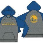 47 Raglan Sport Hood Golden State Warriors