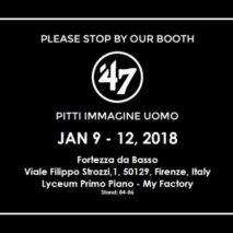'47 vi aspetta al Pitti Immagine Uomo