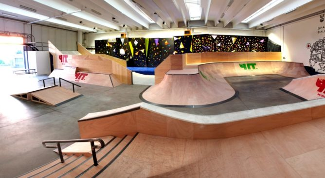 The Pit Skate Riot – Video report