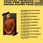 Amir Issaa – Vivo per questo U.S. Tour 2018