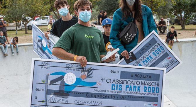 Andrea Casasanta primo al Campionato Italiano Skateboard