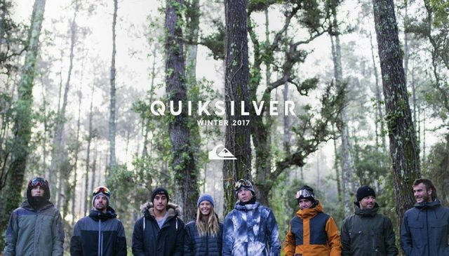 Quiksilver Outerwear Fall Winter 2016/2017
