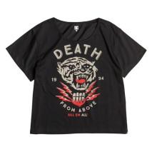 DC T-shirt m.c. Tygurr Crop SS WMN Wo's