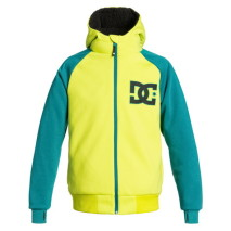 DC Outerwear Felpa cappuccio+zip Harper Boy