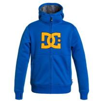 DC Outerwear Felpa cappuccio+zip Billions Boy