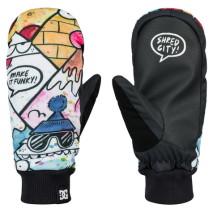 DC Outerwear Moffola snowboard Flag Mitt Boy