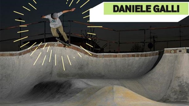Daniele Galli e i suoi trick baciati dal sole