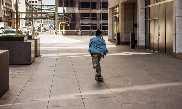 Un tour di Minneapolis insieme allo skater Davis Torgerson