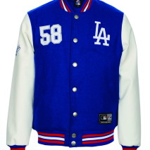 Majestic Dean Pu/Wool Letterman Jacket