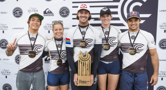 Il World Team vince la WSL Founders Cup