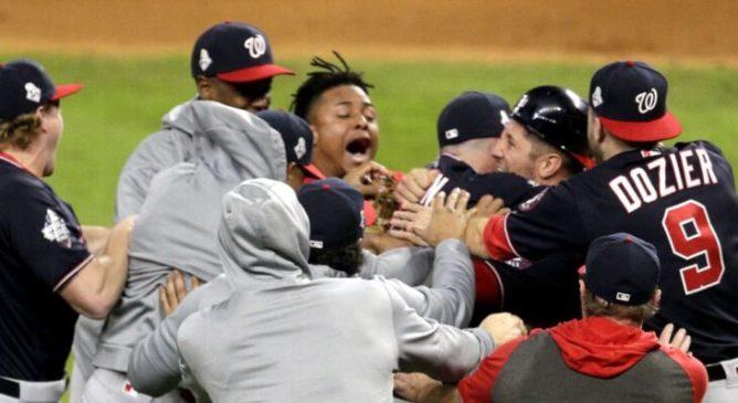 Nationals Campioni MLB 2019