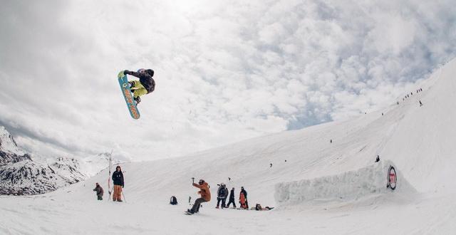 Ian Matteoli al Mottolino Snowpark2