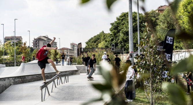 DC Skate With Us - Torino