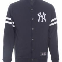 Majestic Roper Fleece Letterman Jacket – New York Yankees