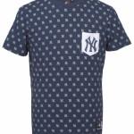 Majestic Conden Aop Ss Pocket Tee – New York Yankees