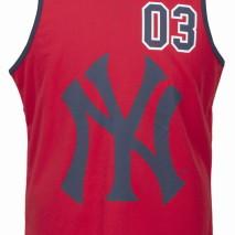 Majestic Renfew Polyester Mesh Vest – New York Yankees