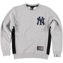 Majestic Bulba Chenille Chest Logo Crew Sweat – New York Yankees
