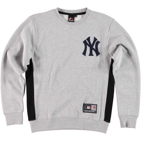 Majestic_Bulba Chenille Chest Logo Crew Sweat - New York Yankees_MNY2367E2_euro75