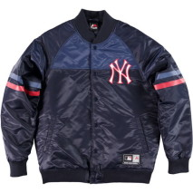 Majestic Clime Satin Jacket – New York Yankees