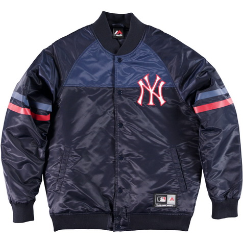 Majestic_Clime Satin Jacket - New York Yankees_MNY2357_euro125
