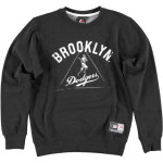 Majestic Edify Graphic Crew Sweat – Brooklyn Dodgers