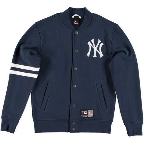 Majestic_Emodin Fleece Letterman Jacket - New York Yankees_MNY2360NL_euro75