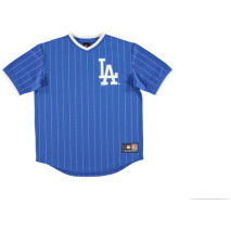 Majestic Kabor Vneck Poly Tee – Los Angeles Dodgers