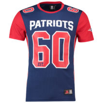 Majestic Dene Poly Mesh T-Shirt – New England Patriots