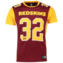 Majestic Dene Poly Mesh T-Shirt – Washington Redskins