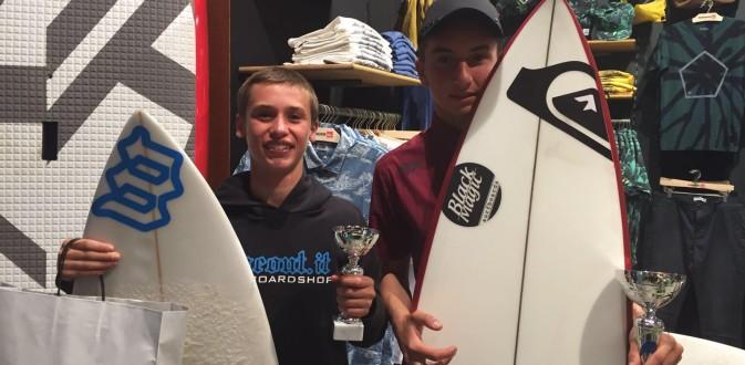 Mattia Migliorini vincitore della categoria Under 16