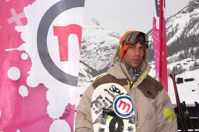 Mottolino Snowpark di Livigno Sceglie Aie Benussi