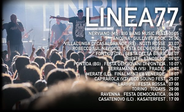 Linea77 in Tour