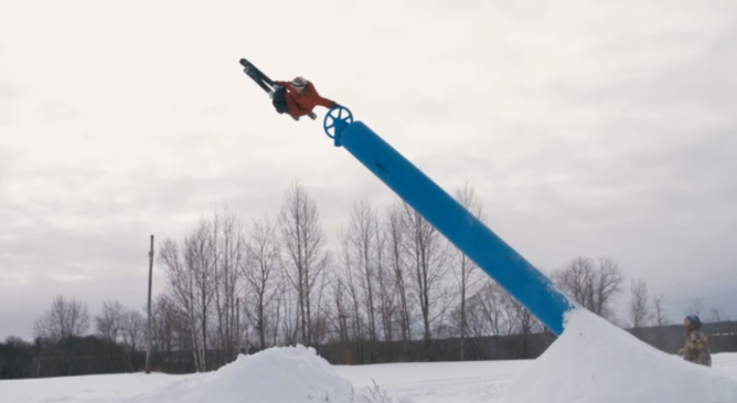 Phil Casabon vince l'Xgames Real Ski 2018