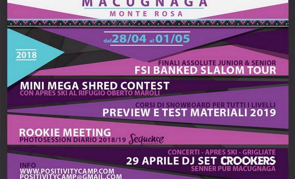 Macugnaga vi aspetta per il test materiali 2019