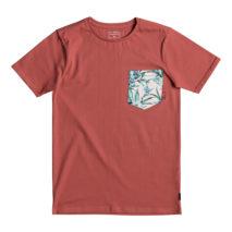 Quiksilver Boy's T-shirt SS Classic Tee Quadro Glide Yth