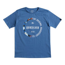 Quiksilver Boy's T-shirt SS Classic Tee Revenge Youth
