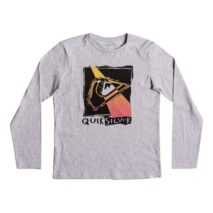 Quiksilver Boy's  LS Classic Tee Youth Hot Spot