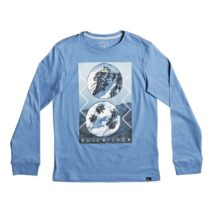 Quiksilver Boy's  LS Carbon Finish Yth Simply