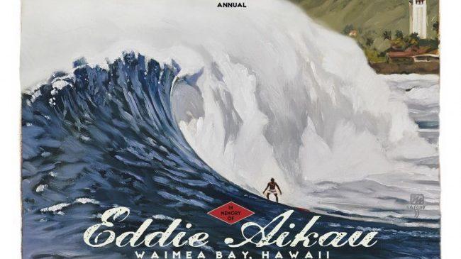 Attesa per il Quiksilver in Memory of Eddie Aikau