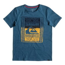 Quiksilver Boy's T-shirt SS Slub Tee Youth Walled Up