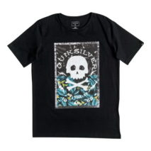 Quiksilver Boy's T-shirt SS Classic Tee Youth Danger Beach