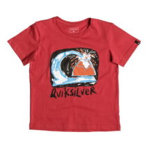 Quiksilver Boy's T-shirt SS Classic Tee Boy Magic Volcano