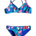 Roxy Girl's Bikini Little Tropics Athletic Set