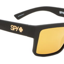 SPY Montana Soft Matte Black – Happy Bronze w/gold Mirror