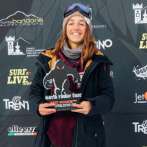 Margherita ancora prima al World Rookie Tour