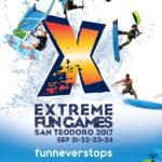 Extreme Fun Games 2017:  21 – 24 settembre