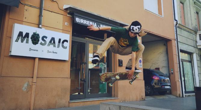Andrès Martin nel team DC Italy Skate