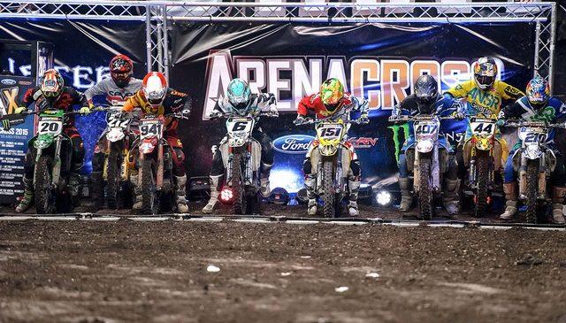 ArenacrossUK con Angelo Pellegrini