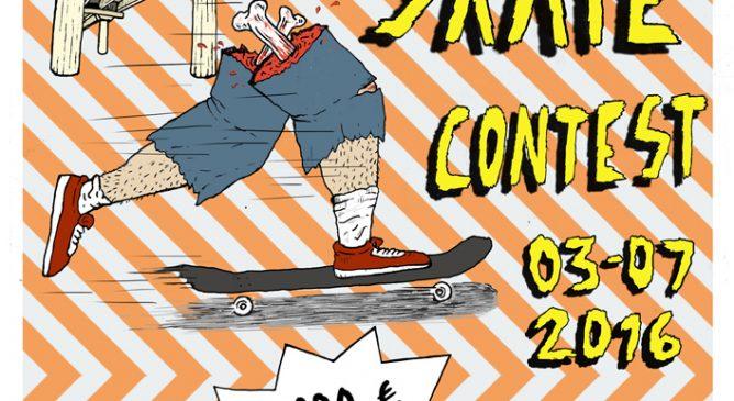 Skater DC Italy all'Habitat Skate Contest 2016