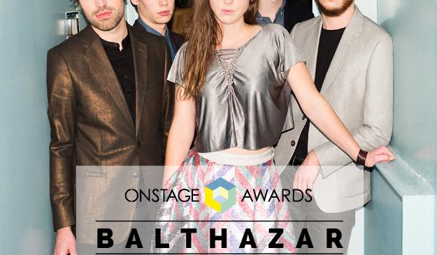 Balthazar agli Onstage Awards!